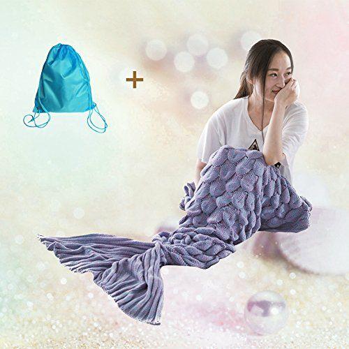 OFFERTA LAMPO A MENO DI 15: Mermaid Tail Coperta con strisce arcobaleno il sofà molle getta la coperta per adulti e bambini (Rainbow 74.8x35.4inches) PREZZO IN OFFERTA: 10.99 (-77% di 47.68) (scadenza: 15 03 2017 ore 22:03)