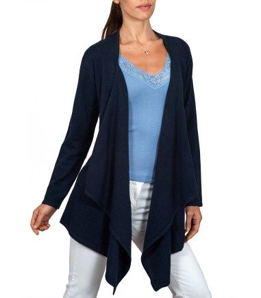 Waterfall Cardigan | Cashmere & Merino | Women's | Wool Overs USA ...
