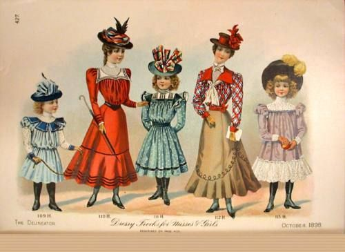 Ladies & Girls - October 1898
