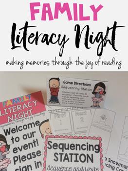 Family Literacy Night K-3 School Wide Event | Principal