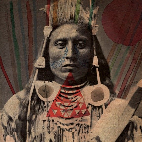 Traditional American Indian Face Paint