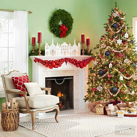 Superb Better Homes U0026 Gardens. Christmas GarlandsDiy Christmas DecorationsChristmas  ...