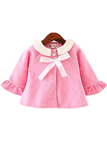 f83708d36bc1 David Nadeau Baby Girls Coat Winter New Cute Children Hooded Jacket ...