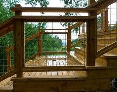 Looking For Creative Deck Railing Ideas Houzz Deck Cover - Creative deck railing designs