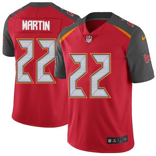 Nike Buccaneers #22 Doug Martin Red Team Color Youth Stitched NFL  hot sale