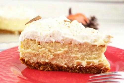 Pumpkin Eggnog Cheesecake Recipe - Creative Cynchronicity #eggnogcheesecake Pumpkin Eggnog Cheesecake Recipe - Creative Cynchronicity #eggnogcheesecake