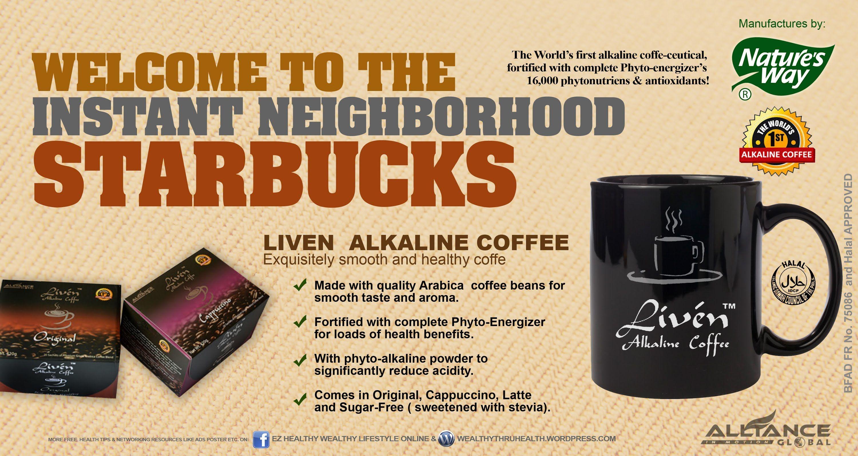 Liven coffee   Arabica coffee beans, Coffee, Starbucks coffee