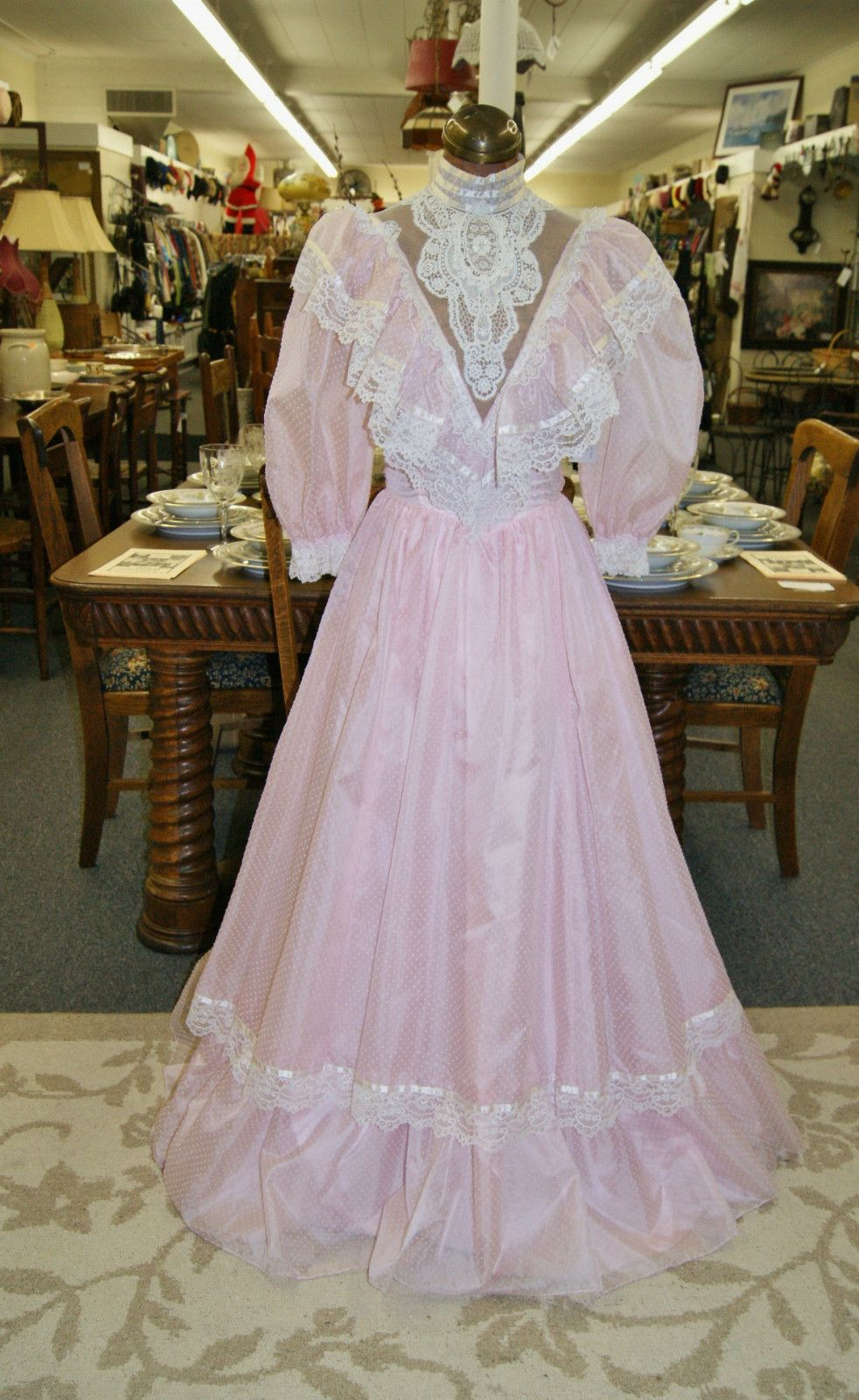 Vintage 1980s Gunne Sax Formal Prom Dress by Jessica McClintock Size ...