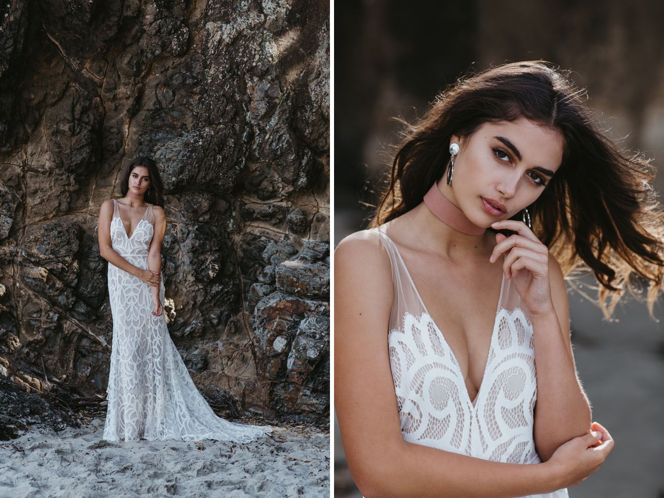 First look lovely brideus exclusive boho brand lovers society