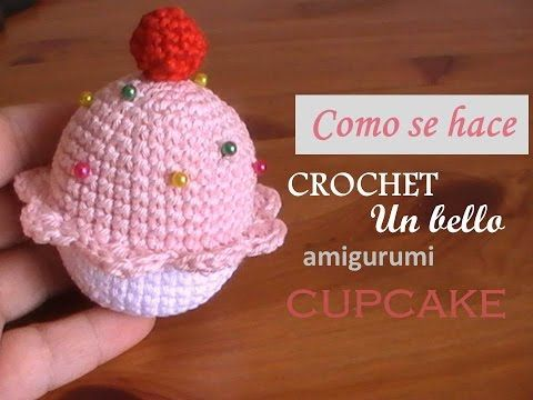Cupcake alfiletero a crochet - Margarita Knitting | Crochet ...