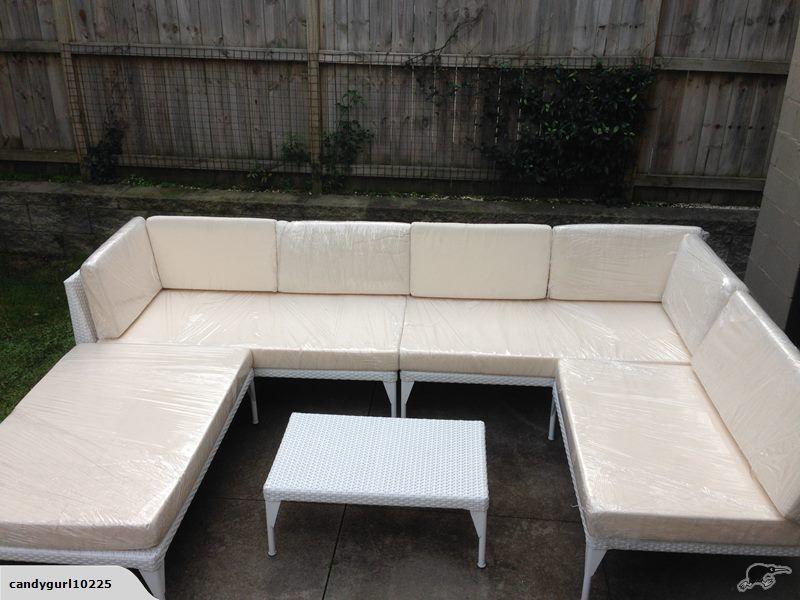 Dedon Mu Replica 9 Seater Sofa Set Coffee Table Trade