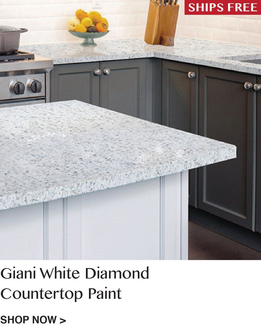 Giani White Diamond Countertop Paint Kit Painting Countertops