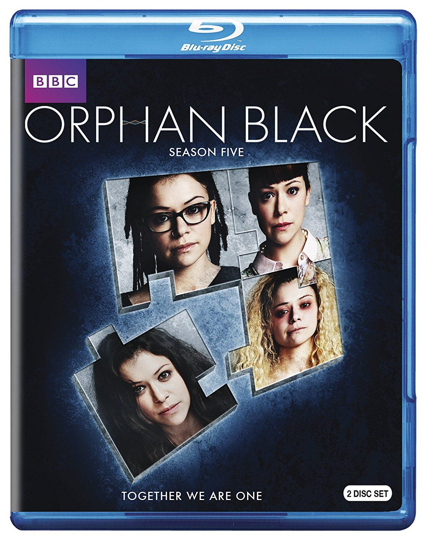 New on DVD and Bluray ORPHAN BLACK Season 5