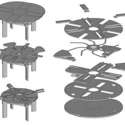 tische erweiterbar tisch esstisch tischplne runde tische bau dein eigenes diy mbel mbeldesign holzbearbeitung - Erweiterbar Runden Podest Esstisch