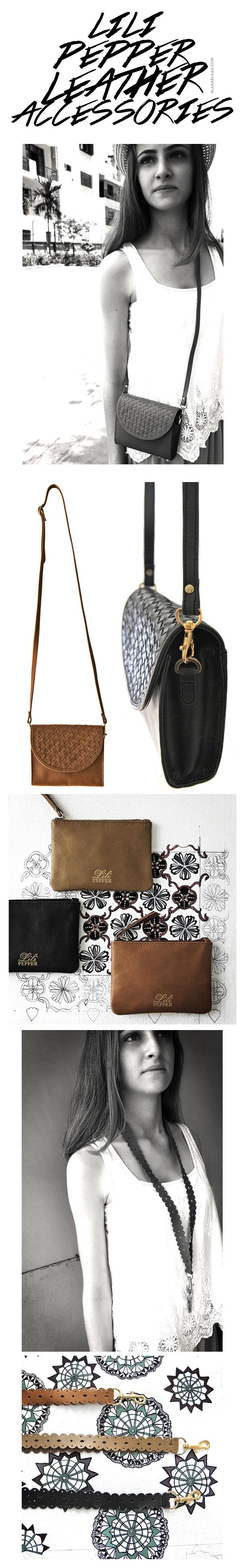 Lili Pepper Leather Accessories