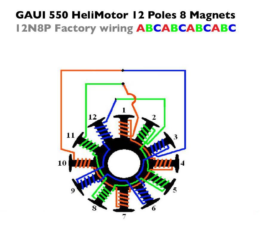 12 Pole 8 Magnet Delta Gaui Jpg 884 X 764 58 Electronics Basics Hobby Electronics Electrical Engineering