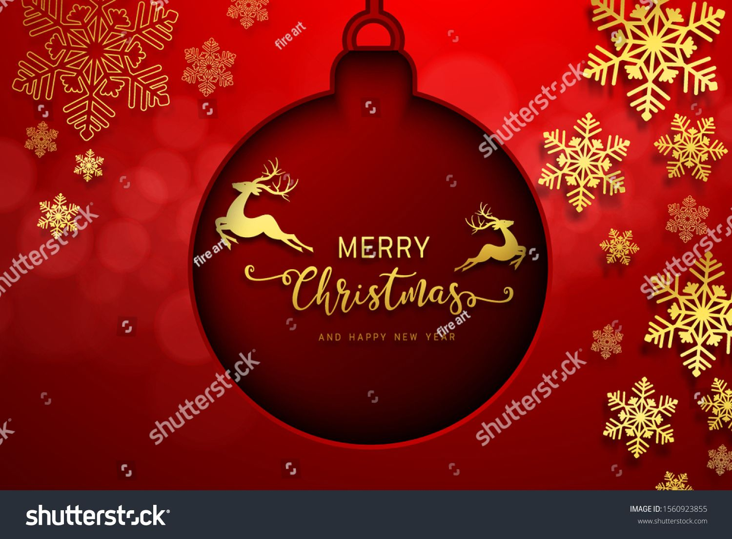 Holiday S Background With Season Wishes And Border Of Realistic Looking Christmas Tree Branches Decorated A Holiday Background Holiday Christmas Tree Branches