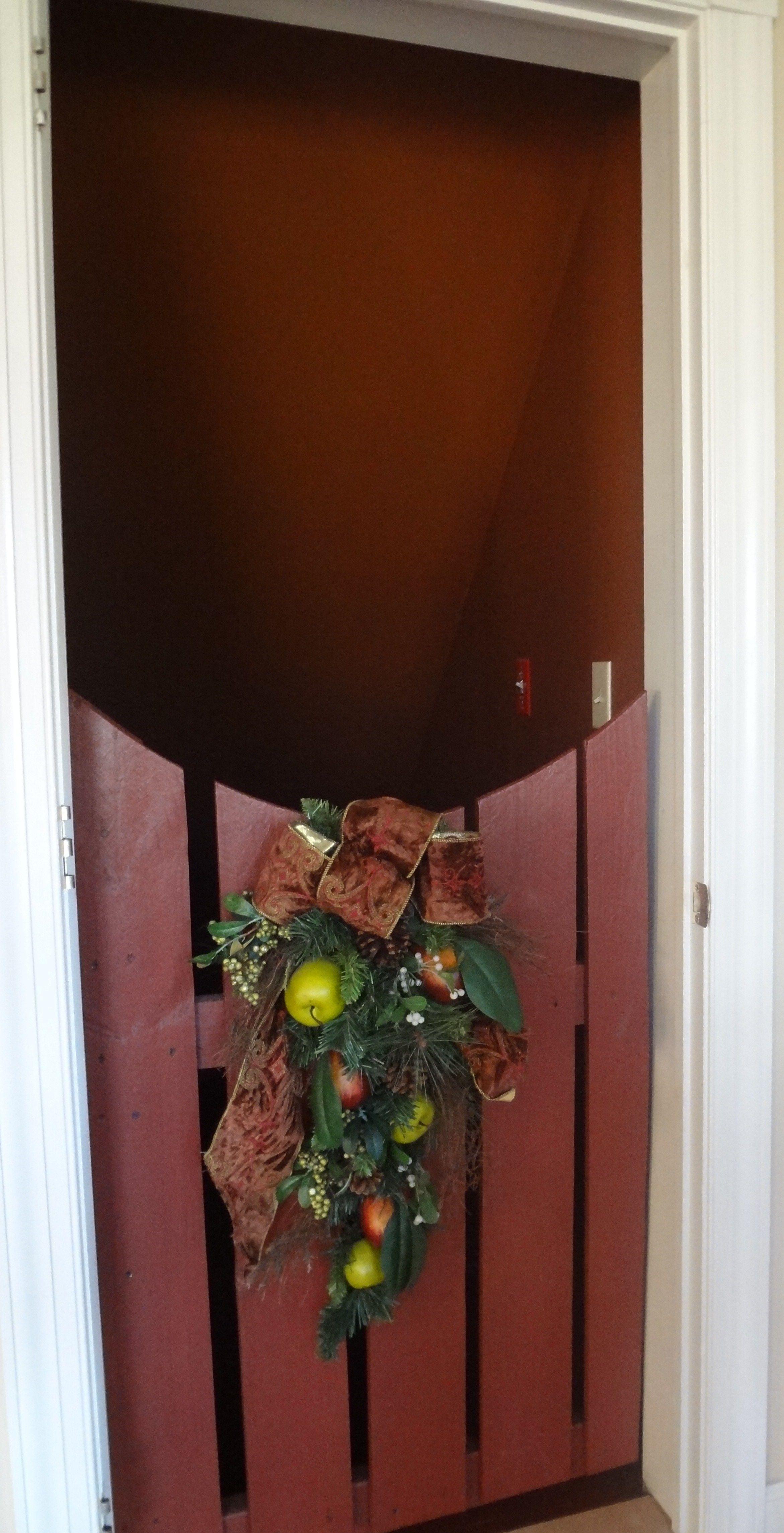 Basement Room Door Ideas: We Replaced Our Basement Door With A Cute Gate.
