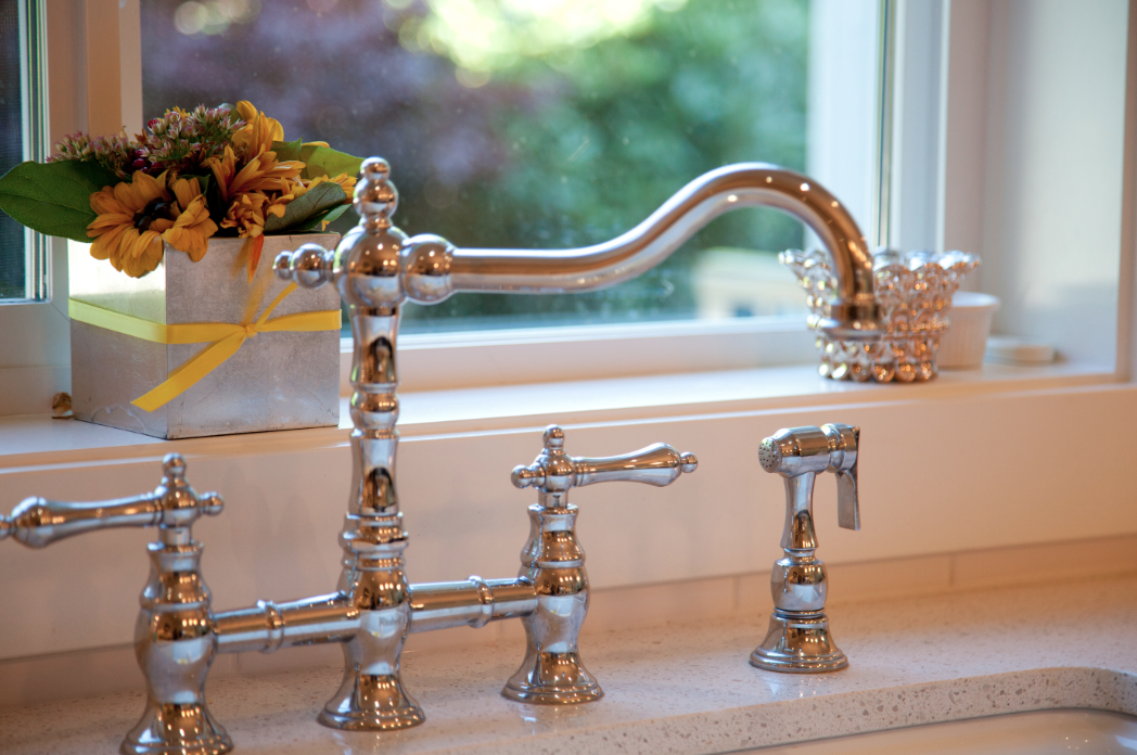 Gorgeous Country Style Kitchen Faucet Www Hyerhomes Ca Country Style Kitchen Custom Home Builders Kitchen Faucet