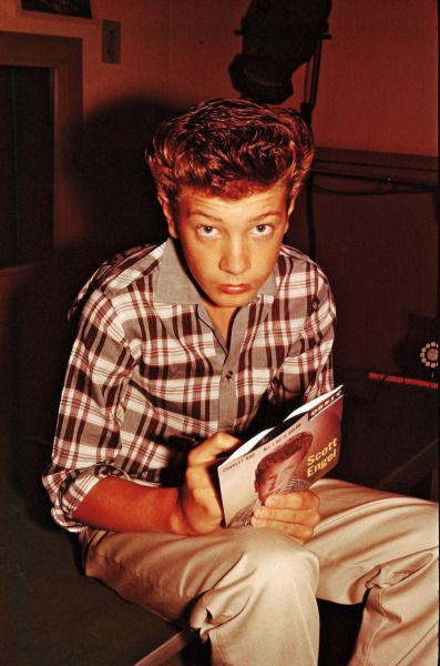 Tommy Edwards - Scotty Engel (Scott Walker) from 1950s Radio in Color. The Lost Photographs of Deejay Tommy Edwards