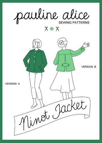 Ninot jacket pattern by pauline.alice, via Flickr