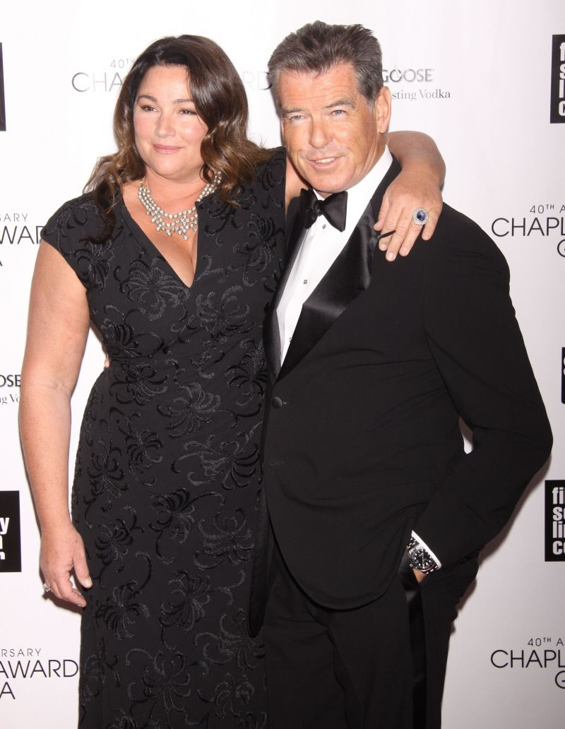 Pierce Brosnan and his...