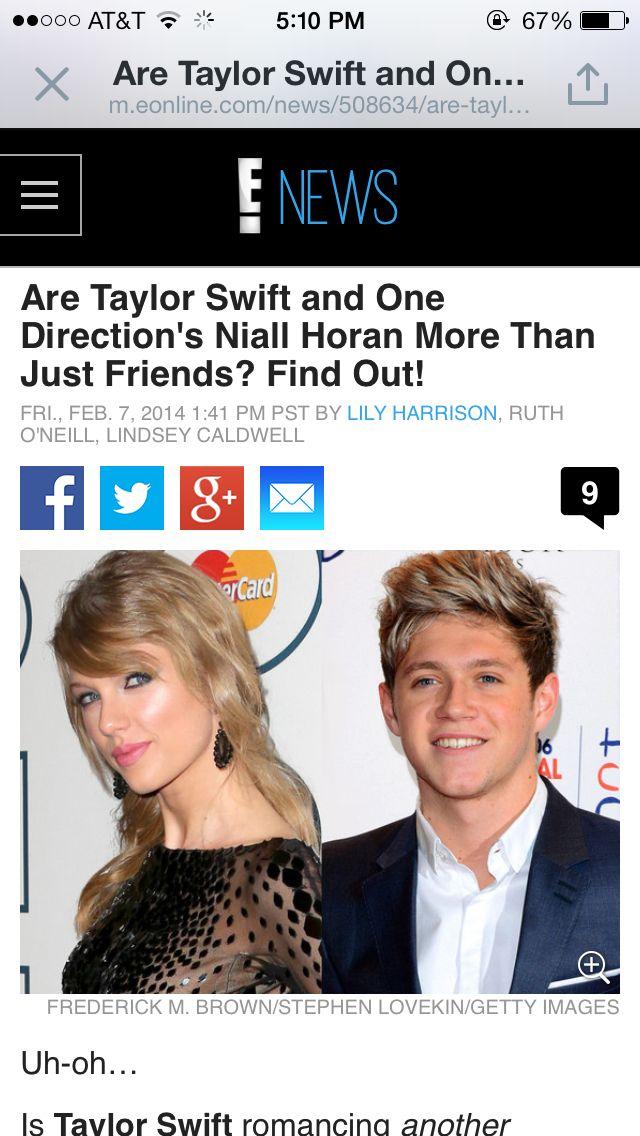 Taylor said can I take you home with me Niall said never