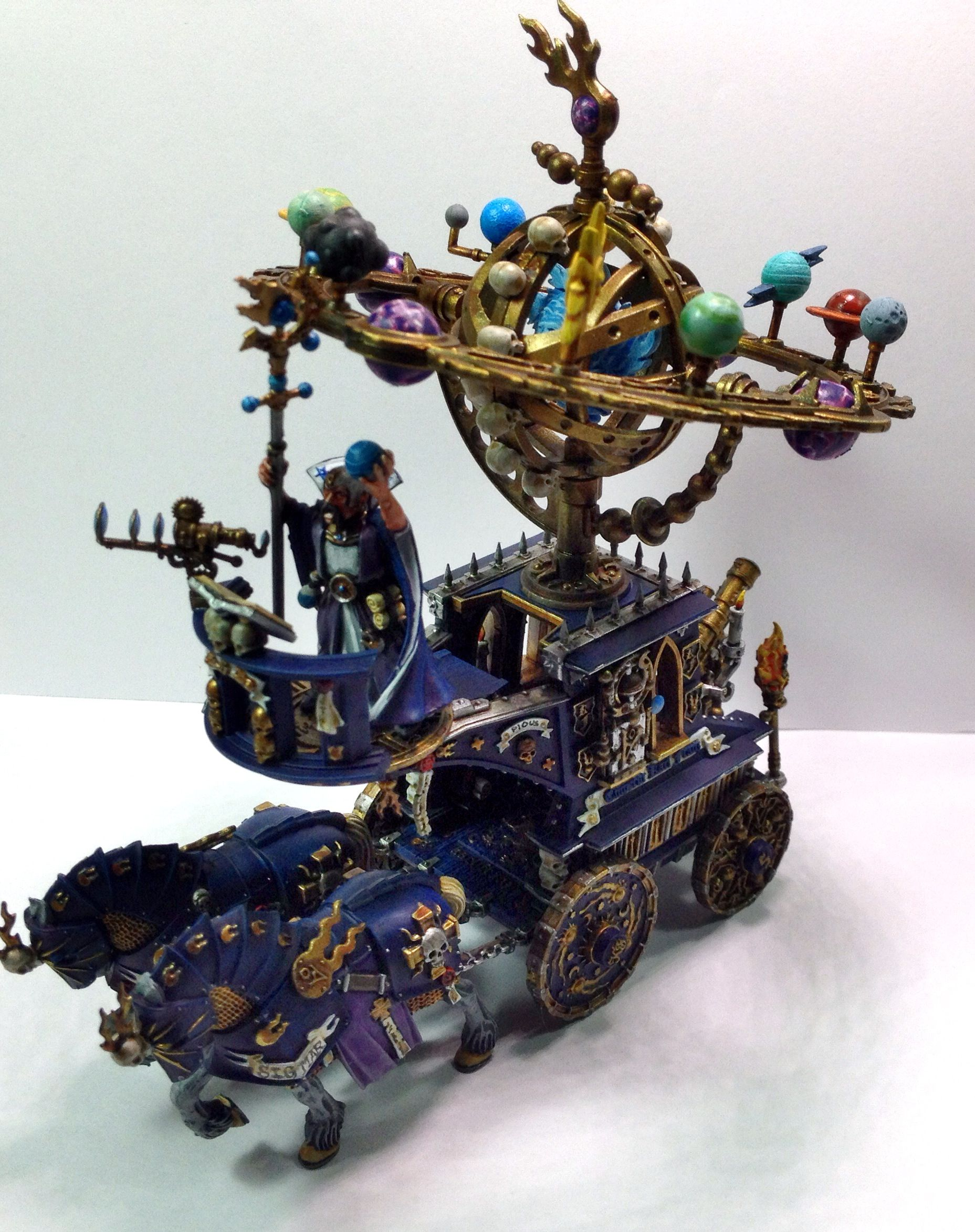 Warhammer Empire Hurricanum we did for a customer.