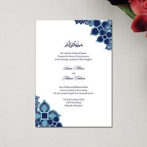 Elegant Muslim Wedding Invitation Cards For Religiousness Marriage Ceremonial Wedding Invitation Card Design Muslim Wedding Invitations Wedding Card Wordings