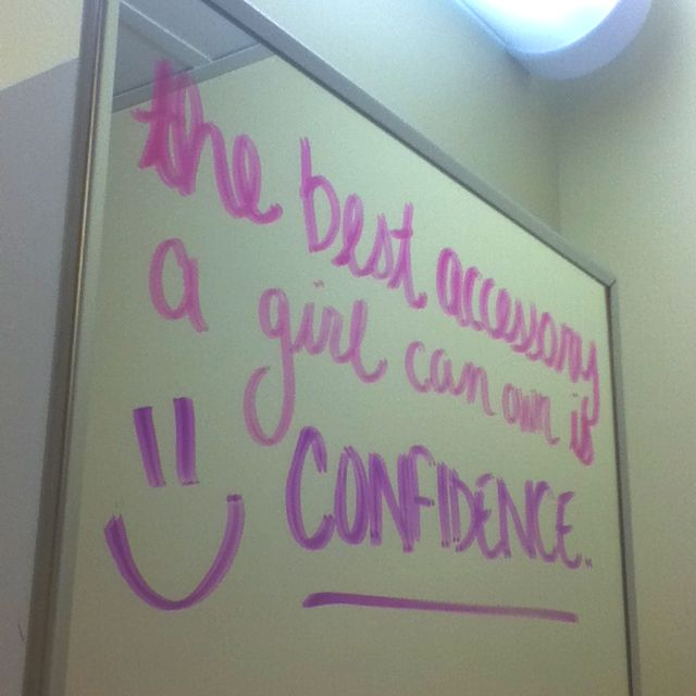 Ive Written Quotes All Over My Bathroom Mirror