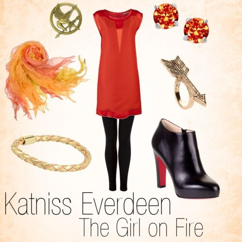 Girl on Fire dress ❤
