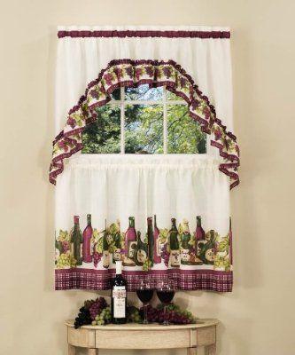 Curtains for kitchen !~Dream Home Stuff~! Pinterest
