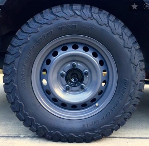 18 Tundra Take Offs With 275 Steel Wheels Wheel Day Van