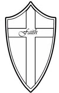 Image Result For Shield Of Faith Coloring Page Vbs Shield Of