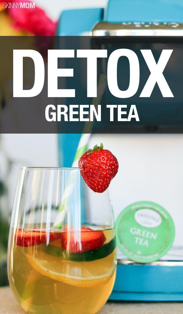 Recipe Detox Green Tea Healthy Living Green Tea Detox