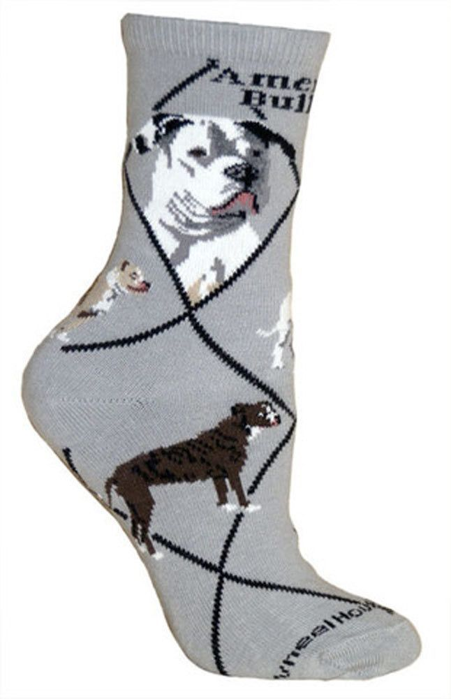 75/% cotton American made DACHSHUND SOCKS gray background