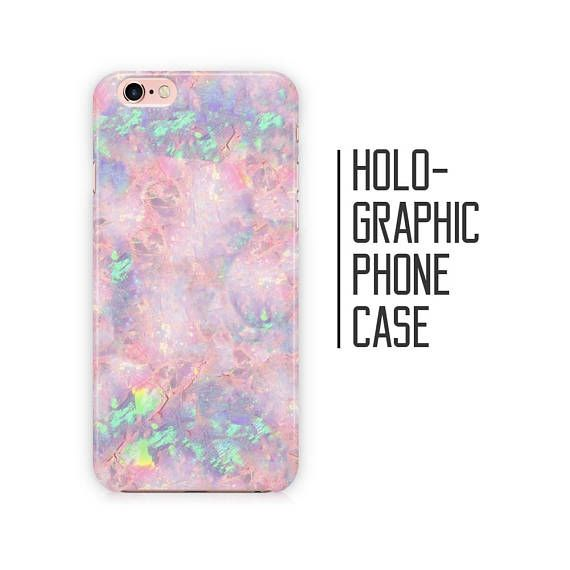 low priced 9ff0c 964b9 Candy Floss Opal Phone Case - Pink Opal Stone Marble for iPhone X XS ...