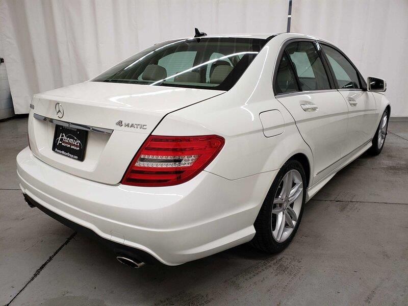 2012 Mercedes Benz C Class C 300 Sport 4matic In 2020 Benz C