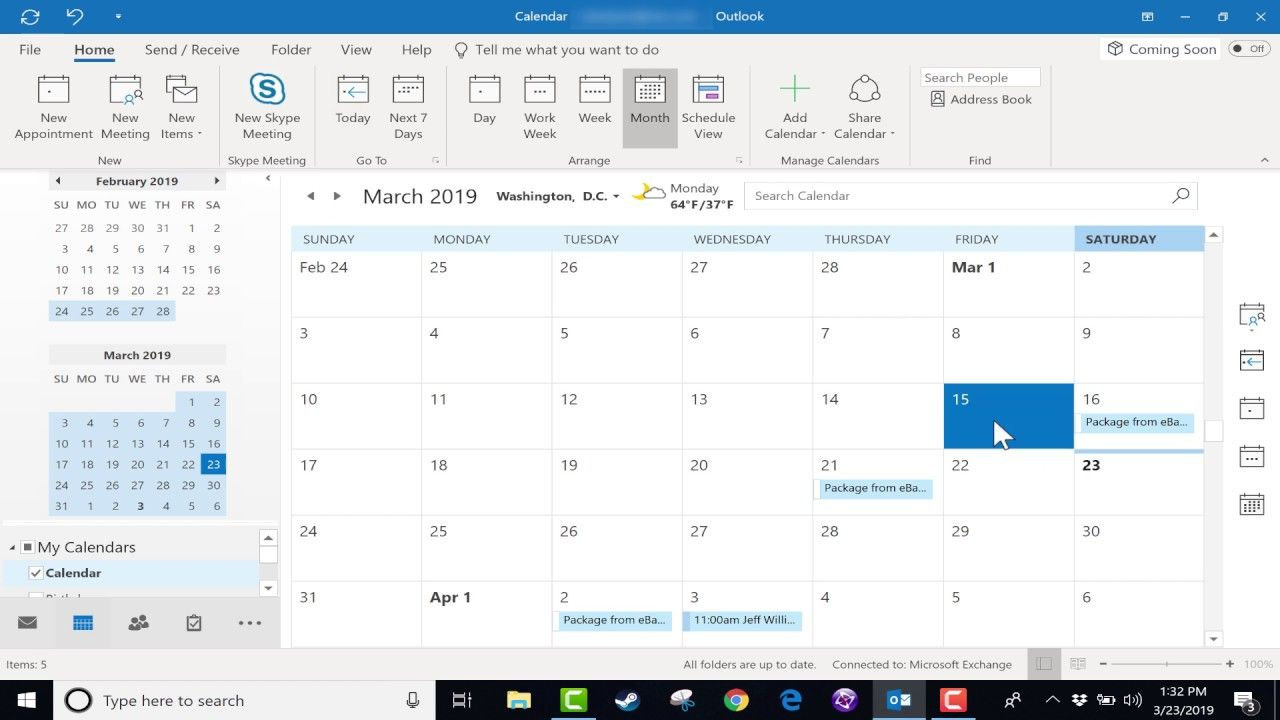 Using the Microsoft Outlook Calendar - 2019 Tutorial | Tips