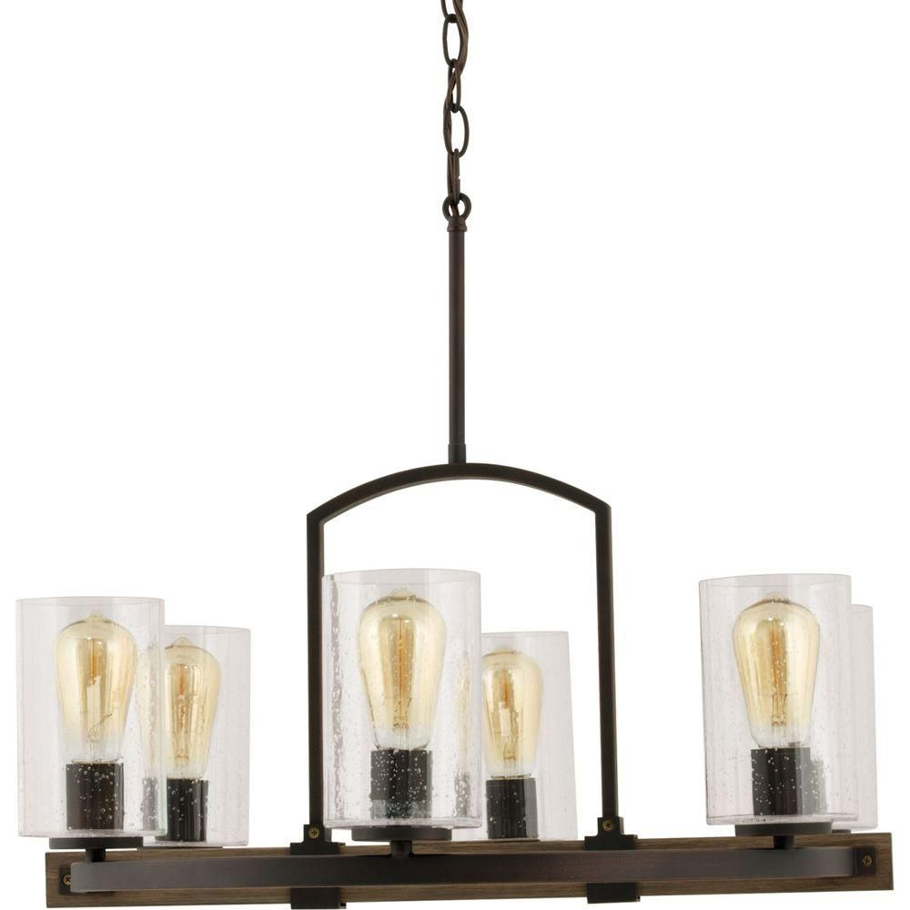 Progress lighting grove collection 6 light vintage bronze chandelier progress lighting grove collection 6 light vintage bronze chandelier p7924 123 the aloadofball Gallery