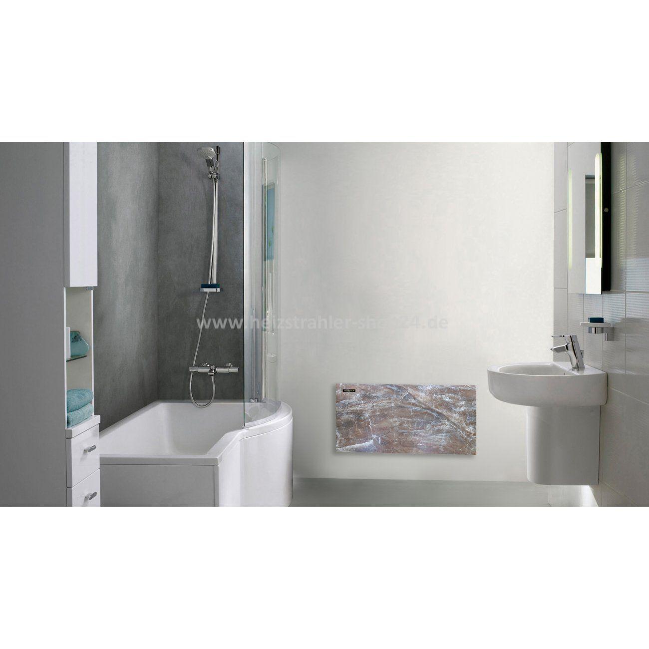 Naturstein Infrarotheizung Fur Das Badezimmer Von Infralia Natural Stone Infrared Heater For The Bathroom Infrarotheizung Heizung Strahler