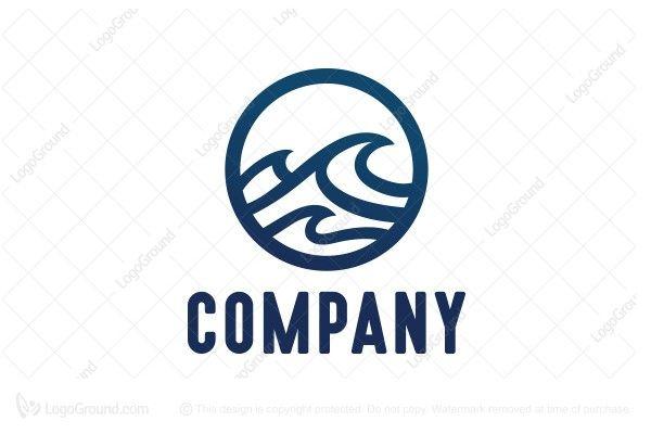 logo for sale wave logo logo sample pinterest logos and logo rh pinterest com