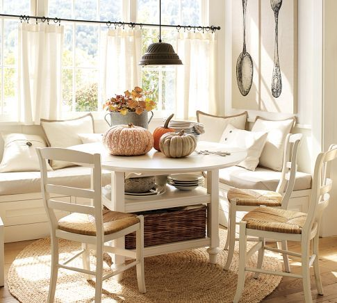 Tremendous Our Next Home Will Have A Breakfast Nook With A Half Moon Ncnpc Chair Design For Home Ncnpcorg