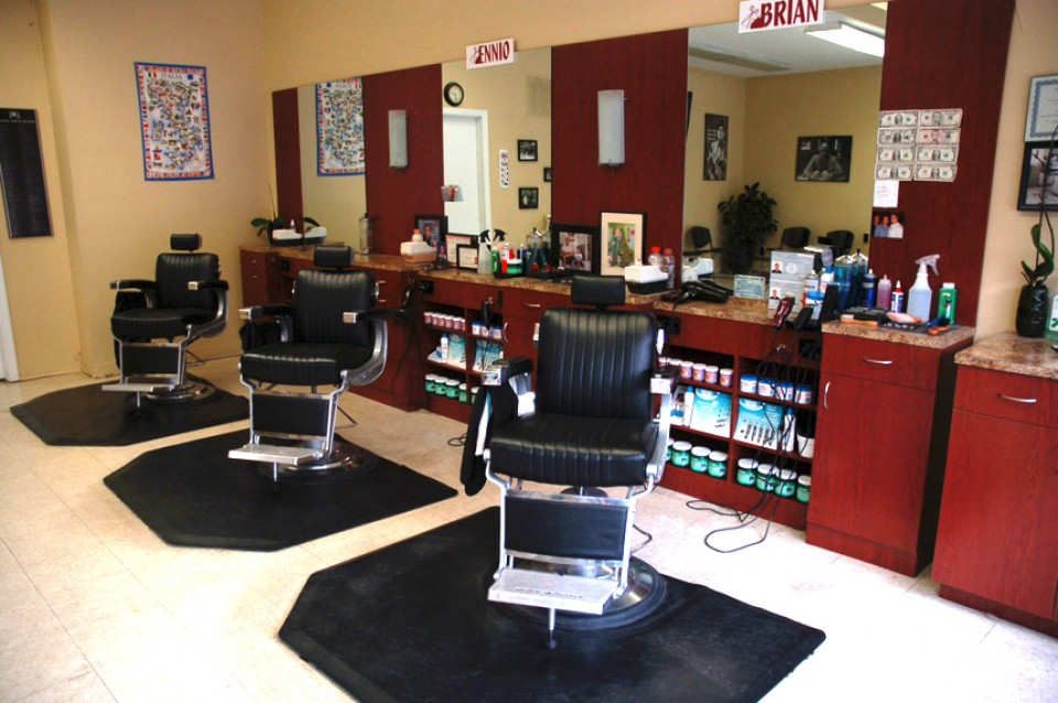 Empire Barber Shop Small Salon Design Ideas With Images