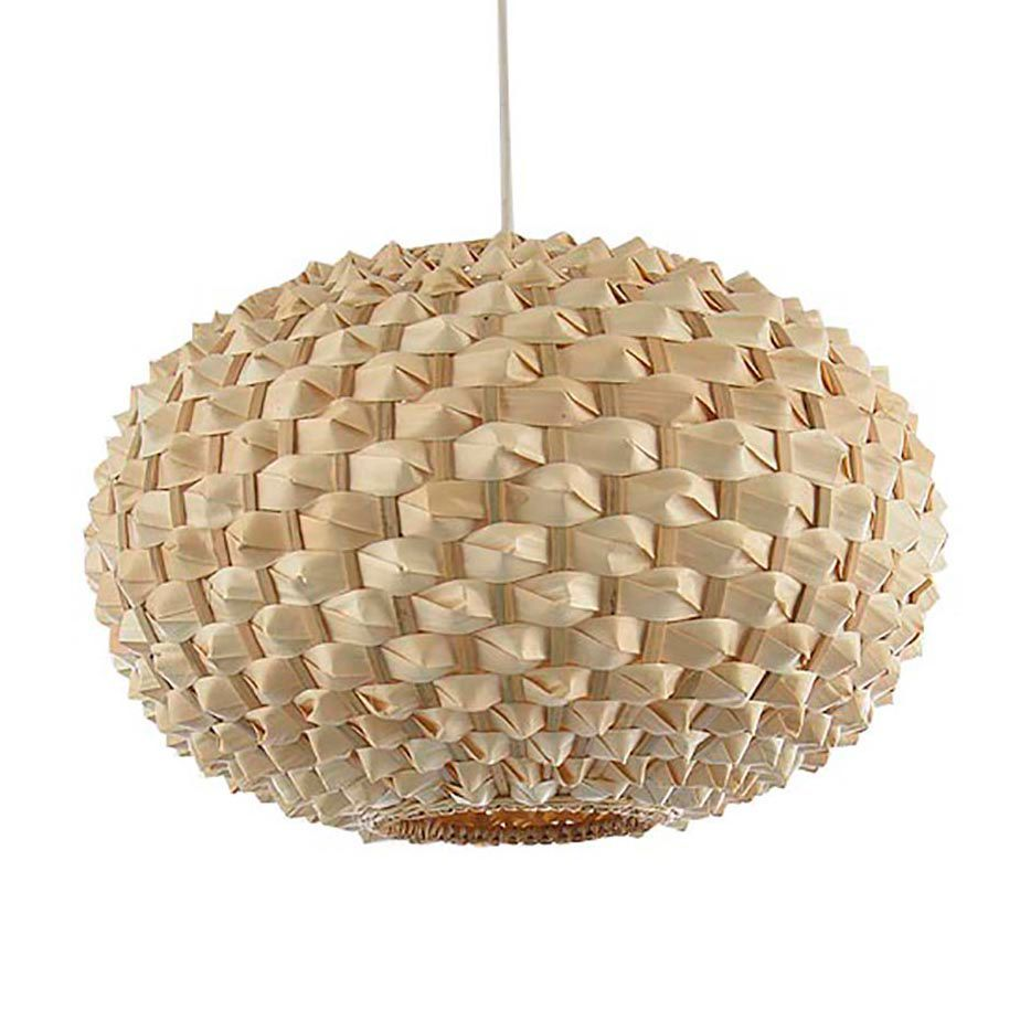 Colours Bolsena Beige Hedgehog Lamp Shade (D)300mm | Living rooms ... for Bamboo Lamp Shade Ikea  575lpg