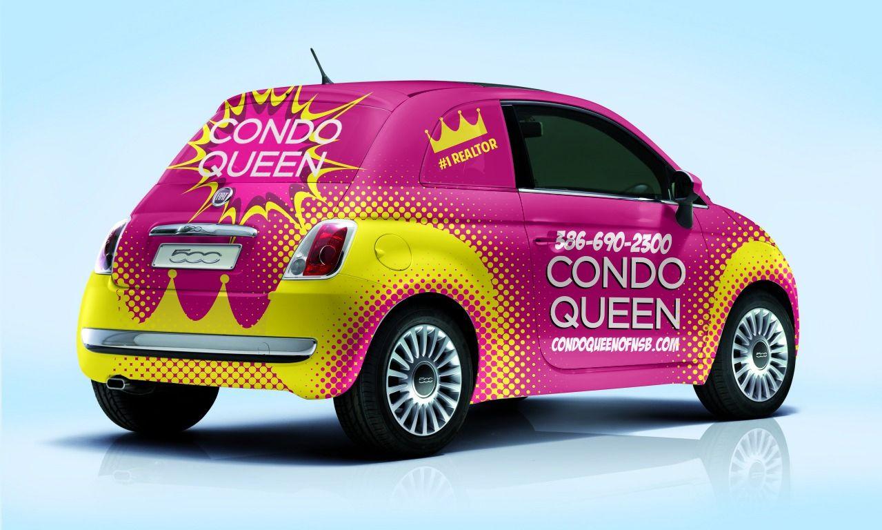 Design 67 By Arcdesignz Traffic Stopping Pop Art Fiat 500 Vehicle