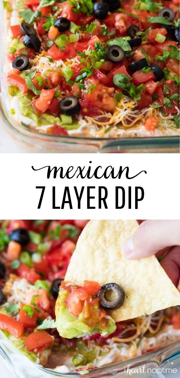 BEST 7 Layer Dip Recipe