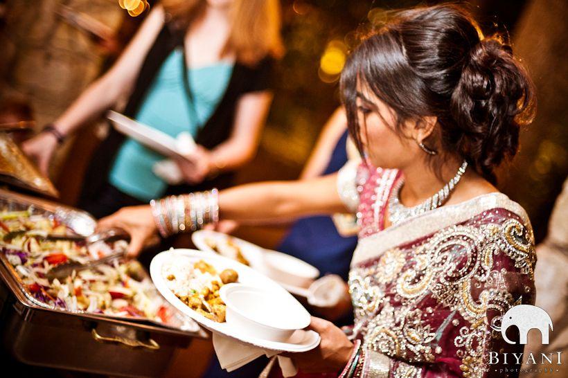 Indian Wedding Reception Food