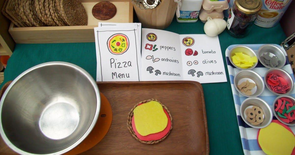 Pizza Parlor Dramatic play preschool, Restaurant themes