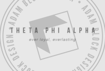 The best custom designs for Theta Phi Alpha, since 2008. | Adam Block Design | Custom Greek Apparel & Sorority Clothes | www.adamblockdesign.com